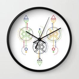 geometrical optics Wall Clock