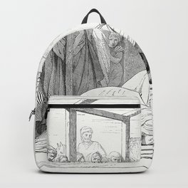 The Adoration of the Magi (1862) from Gazette Des Beaux-Arts a French art review Backpack