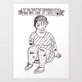 We Don't Break Easy Art Print