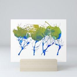 Natural ink Mini Art Print