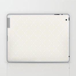 Coconut Milk Quatrefoil Laptop & iPad Skin