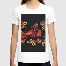 Native red bird T-shirt