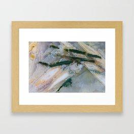 Chopstix Agate Framed Art Print