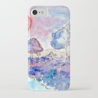 country iPhone & iPod Cases featuring COUNTRY by augusta marya
