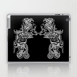 Maya Serpent Black Laptop & iPad Skin
