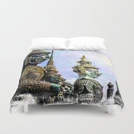 Bangkok palace I Duvet Cover