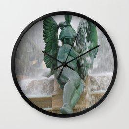 Fountain at Logan Square Wall Clock