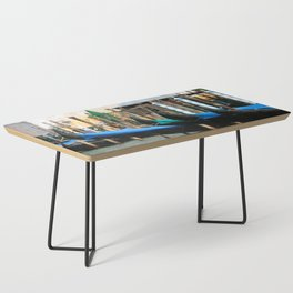Venetian Gondolas Coffee Table