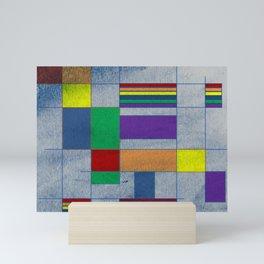 Mid-Century Modern Art - Rainbow Pride 1.0 Mini Art Print
