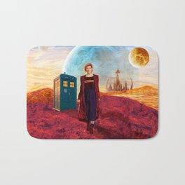 13th Doctor at Gallifrey Planet Bath Mat