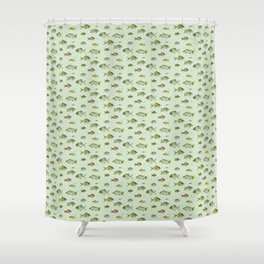 Colourful Fishies Shower Curtain