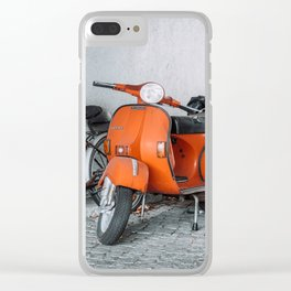 Let's go see the world on our Scooter Clear iPhone Case