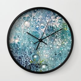 rain drops Wall Clock