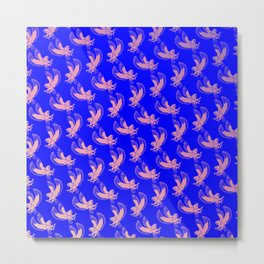 Eagles Pattern Metal Print
