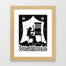 The Weaving Maiden Framed Art Print