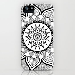 9-Pointed Mandala iPhone Case