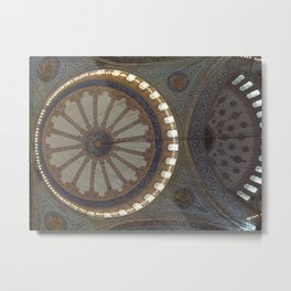 Blue Mosque, Istanbul Metal Print