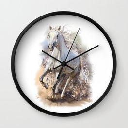 White Horse Gallop Wall Clock