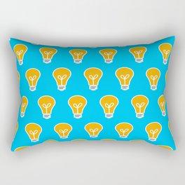 Let Your Light(bulb) Shine Rectangular Pillow