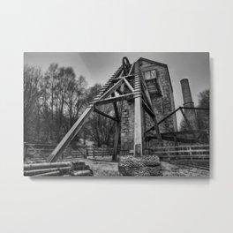 Minera Lead Mines Metal Print