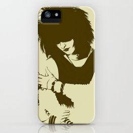 Tribute to Siouxsie Sioux iPhone Case
