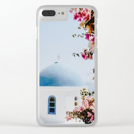 Santorini, Greece Clear iPhone Case