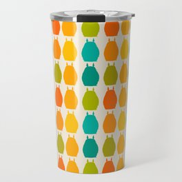 my neighbor pattern Travel Mug