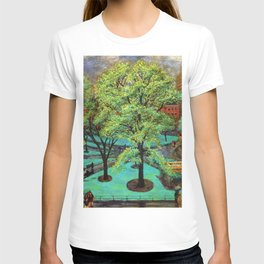 "Classical Masterpiece 'Spring, Washington Square, NYC"" by John French Sloan T-shirt"