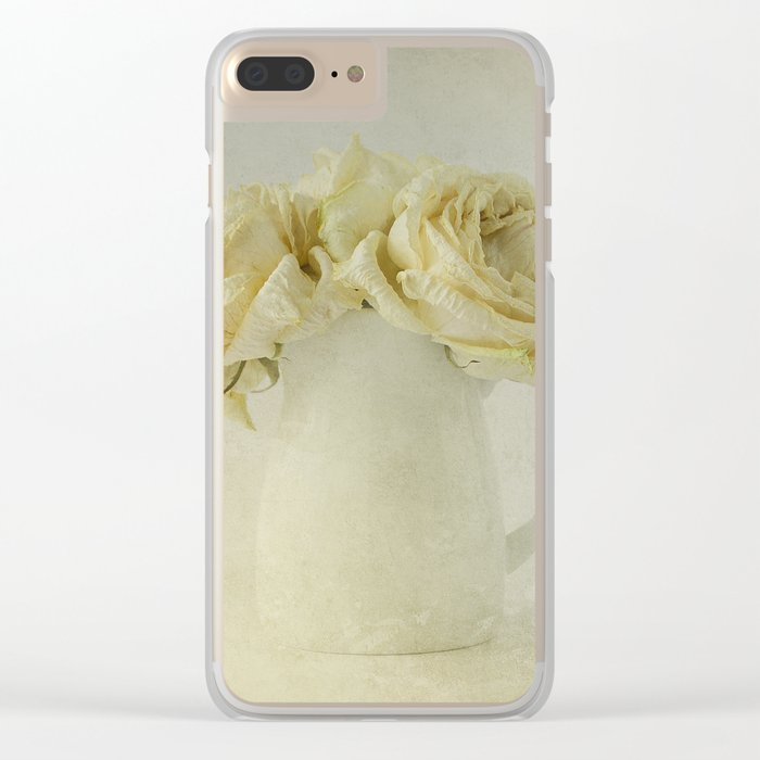 Vintage Light Clear iPhone Case