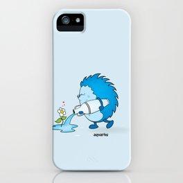 funny zodiac/aquarius iPhone Case