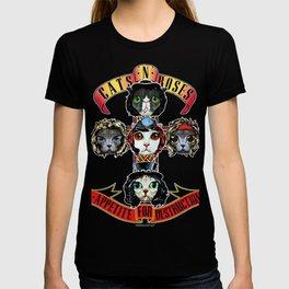 Cats N Roses T-shirt