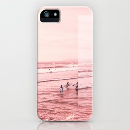 Pink Coast iPhone Case