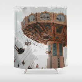 Let's Fly Away Shower Curtain