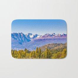 Patagonia Landscape, Aysen, Chile Bath Mat