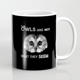 Low poly owl Coffee Mug