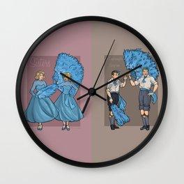 Caring, Sharing Wall Clock