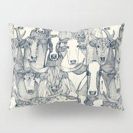 just cattle indigo pearl Pillow Sham