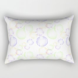 Bubbles 1 Rectangular Pillow