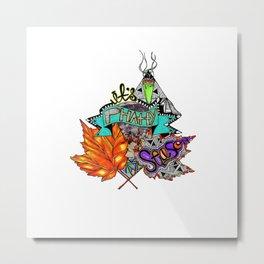 420 Metal Print