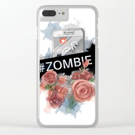 #zombie Clear iPhone Case