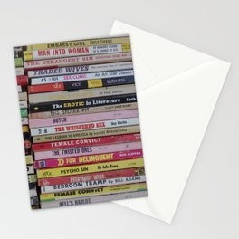 Late Night Reading Stationery Cards