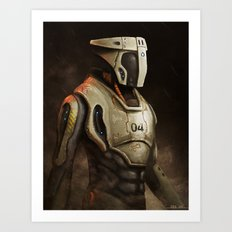 Sergeant Art Print