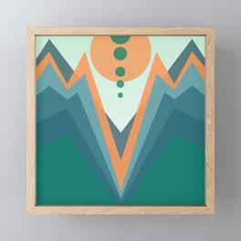 strange valley Framed Mini Art Print