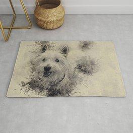 West Highland White Terrier Rug