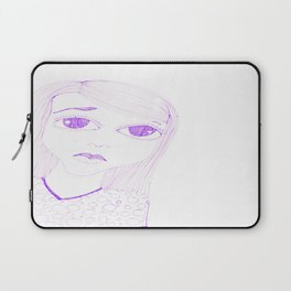 purple sadness1 Laptop Sleeve