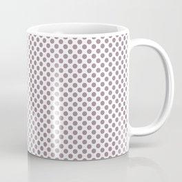 Elderberry Polka Dots Coffee Mug