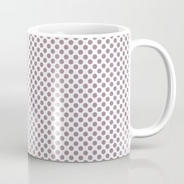 Elderberry Polka Dots Coffee Mug