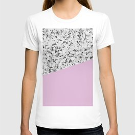Granite with Pink Lavender Color T-shirt