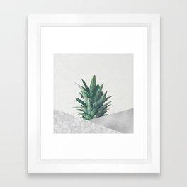 Pineapple Dip VIII Framed Art Print