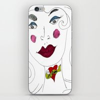 """mom iPhone & iPod Skins featuring """"MoM"""" by Holly Lynn Clark"""